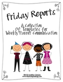Friday Reports: Weekly Classroom Newsletters for Parent Co