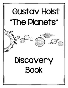 """Gustav Holst's """"The Planets"""" Workbook (Science/Literacy Co"""