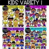 Kids Variety Bundle (Formerly December VIP 2018) {Creative Clips Clipart}