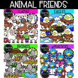 Animal Friends Bundle 1 (Formerly November VIP 2018) {Creative Clips Clipart}