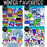 Winter Favorites Bundle (Formerly October VIP 2018) {Creative Clips Clipart}