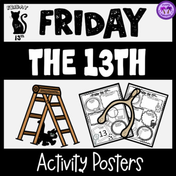 Friday the 13th Poster Activity