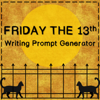 Friday the 13th Writing