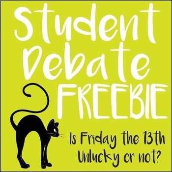 Friday the 13th Writing Debate - ELA Test Prep and Lesson