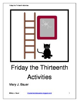Friday the Thirteenth Activities