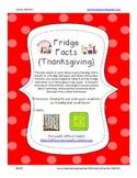 Fridge Facts {Turkey Day}