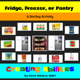 Fridge, Freezer, or Pantry? Sorting Groceries