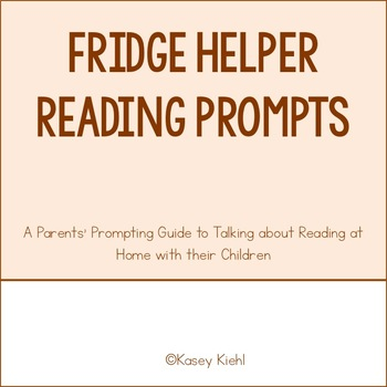 Fridge Helper: A Parent's Quick Reference Guide to Assist