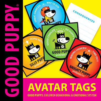 Behavior Avatar Tags . Child Behavioral & Emotional Tools by GOOD PUPPY