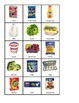 Fridge or Pantry- Food File Folder Sort