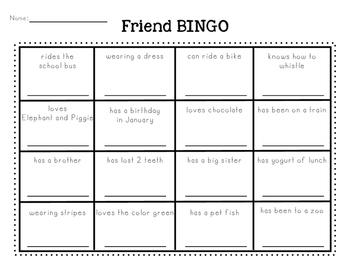 Friend BINGO