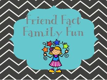 Friend Fact Family Fun