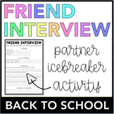 Friend Interview (Back To School)