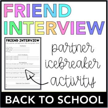 Friend Interview (Back To School)