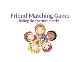 Friend Matching Game