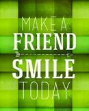 Friend Motivational Print