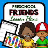 Friend Theme Preschool Lesson Plans -Valentine's Day Activities