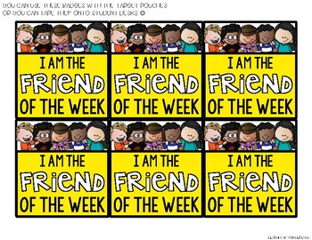 Friend of the Week