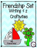"Friend""ship"" and Friendship Flower Craftivities + Writing"