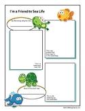 Friend to Sea Life Worksheet