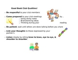 Friendly Book Club Reminders