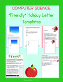Friendly Christmas Letter Templates - Microsoft Word - FREE FOR ONE WEEK