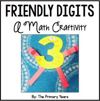 Friendly Digits - A Math Craftivity FREEBIE