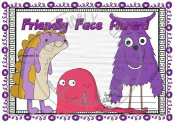 Friendly Face Award