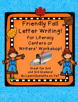 Friendly Fall Letter Writing