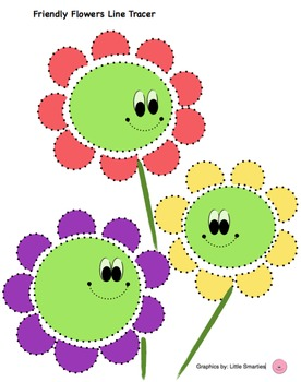 Friendly Flowers Shape Tracer