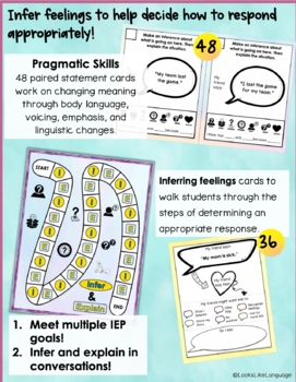 Conversation Skills Games & Activities for Giving Appropriate Responses