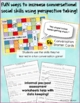 Conversation Skills Activities and Games for Giving Appropriate Responses