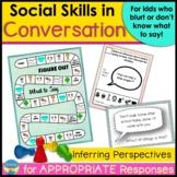 Conversation Skills | Social Skills Activities and Games| Follow-Ups
