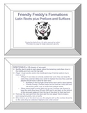 Friendly Freddy's Latin Roots plus Prefixes and Suffixes Game