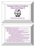 Friendly Freddy's Magic E and Closed Syllable Game