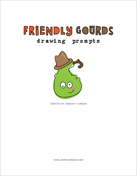 Friendly Gourds Drawing Prompts