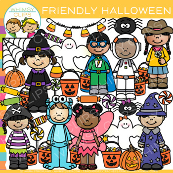 Friendly Halloween Clip Art
