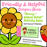 Friendly & Helpful Coupon Book - Girl Scout Daisies - Sunn