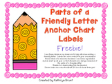 Friendly Letter Anchor Chart Labels