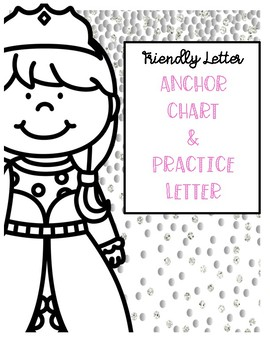 Friendly Letter Anchor Chart and Practice Mini Pack