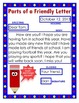 Friendly Letter Anchor Chart and Worksheet Packet