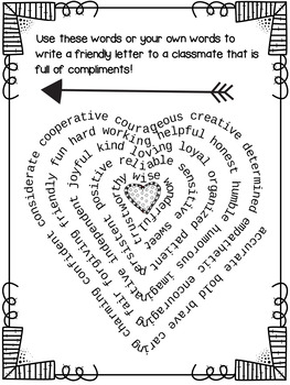 Valentine's Day ELA! A Friendly Letter Activity Filled with Love ♥