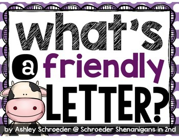 Friendly Letter FREEBIE!