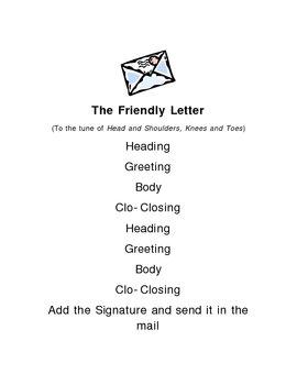 Friendly Letter Fun