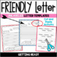 Spring Friendly Letter Fun/Envelope ~ With the 5 Parts of