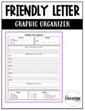 Friendly Letter Graphic Organizer