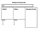Friendly Letter - Graphic Organizer - Handout