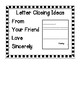 Friendly Letter Greeting and Closing Idea Cards for a Writing Center (FREE!)
