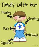 Friendly Letter Guy Poster