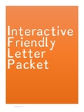 Friendly Letter Interactive Packet